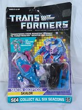 1988 Transformers Sealed Piranacon Seacon Skalor Mib Box Misb Sealed