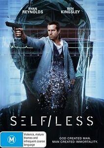 Self/Less (DVD, 2015)*R4*Terrific Condition*Ryan reynolds*