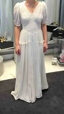 """Vintage 1930s """"Barely There"""" Wedding Dress - Size 2"""