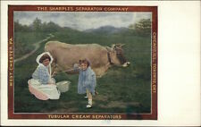 Sharples Tubular Cream Separator Agriculture West Chester PA Milking Cow c1910