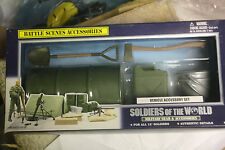 "Rare 12"" 1:6 Scale Soldiers Of The World vehicle  Accessories Set"