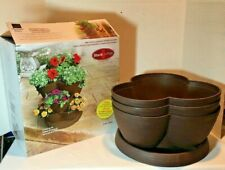 Stack-A-Pot Brick Colored 30qt Stackable Planter