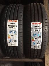 2 x 215/60 ZR16 Maxxis Premitra HP5 99W XL 215 60 16 (Extra Load) - TWO TYRES