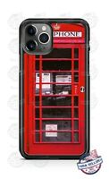 Red Telephone Booth Phone Case Cover For iPhone 12 Samsung A21 A51 A11 LG Google