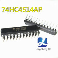 5PCS 74HC4514 Integrated Circuit from TC74HC4514AP DIP NEW