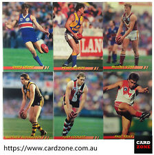 1994 Select AFL Cazaly Gold Card G2 Chris Waterman(eagles)