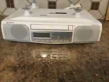 Sony under the cabinet radio with Cd player, mega bass