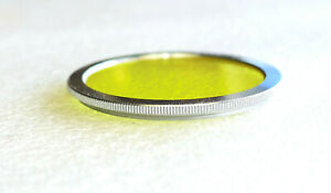 40.5mm NEOCA Y2 SLIM YELLOW Contrast Filter - Chrome - PERFECT