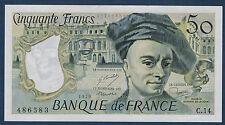 FRANCE - 50 FRANCS QUENTIN DE LA TOUR Fayette n°67.4 de 1979 en NEUF C.14 486583