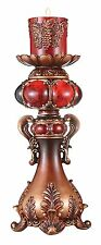 """New 16"""" Candleholder Ruby red"""