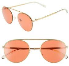 Mykita Studio 5.1 Aviator Sunglasses 51mm Glossy Gold / Red Made in Germany