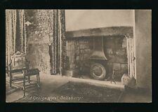 Wiltshire Wilts SALISBURY Old George Hotel fireplace pre1919 PPC