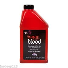 Pint of Fake Blood Horror Halloween Fancy Dress Make Up Theatrical Vampire Zombi