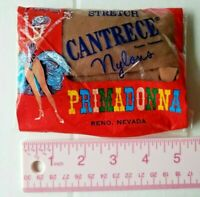 Vintage Primadonna Casino Nylon Stockings Cantrece Reno Nevada Giveaway Medium
