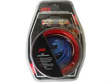 1500W 10GA Car Audio Subwoofer Amplifier AMP Wiring Fuse Holder Wire Kit FM