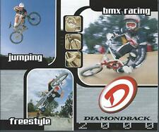 Bicycle Brochure - Diamondback - BMX Racing Jumping Freestyle - 2000 (BK08)