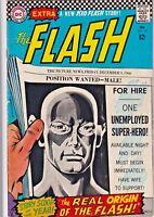 FLASH#167 VG/FN 1967 DC SILVER AGE COMICS