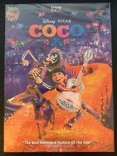 Coco DVD (Disney/Pixar, Brand New) Free USPS First Class...