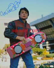 Michael J Fox Back to the future Autographed 8x10 Signed Photo Reprint