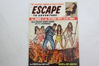 Escape to Adventure Sept 1961 Man Magazine Nazi Horror Tortures Bondage