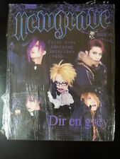 Newgrave Issue #3 Dir en grey Music Magazine Deathrock Dark Gothic Culture Book
