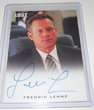 LOST Rittenhouse Archives Autograph Trading Card Fredric Lehne as Marshal Edward