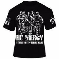 No Mercy T-Shirt I Patriot I Veteran I Karate Kid I Cobra Kai I America