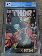 Thor #165 CGC 5.5 OW-W Pages, 1st App of Warlock.  Stan Lee story from 6/1969