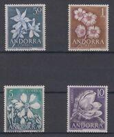 ANDORRA ESPAÑOLA (1966) AÑO COMPLETO NUEVO MNH SPAIN EDIFIL 68/71
