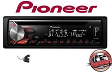 Pionero DEH-3900BT Autorradio Bluetooth CD MP3 USB Iphone Coche Audi VW Opel