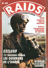 RAIDS 69 FRENCH 13TH REGIMENT PARA / CROATIA OSIJEK / BURMA REBEL FORCES PNA