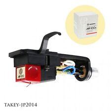 NAGAOKA MP-100H Cartridge & Headshell MP type Japan Free Shipping with Tracking