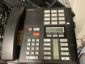 Nortel Norstar Telephone System Complete with 25 M7310 Operator Phones.