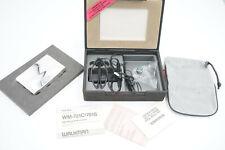 SONY Walkman 10th Anniversary Special Edition WM-701S versilbert Vitrinenstück