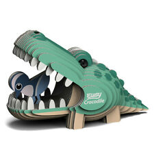 EUGY - 3d Biodegradable Cardboard Model Build Your Own Pet Crocodile Age 6 BN