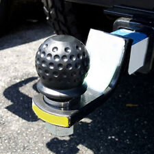 Car Tow Ball Cover Caps Towing Hitch Caravan Trailer Towball Protect Cover 50mm