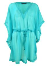 Tommy Hilfiger Women's Chiffon Kaftan Top Swim Cover-Up