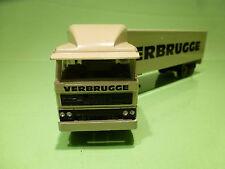 LION CAR 58 + 36  DAF 2800  TRUCK + EUROTRAILER - VERBRUGGE - 1:50 - EXCELLENT