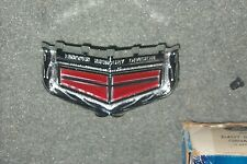 NOS Header Panel Emblem 1975 1976 Mercury Montego MX/Villager Hood/Grill Badge