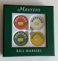 Masters ball markers 4 pack 2021 masters golf augusta national new