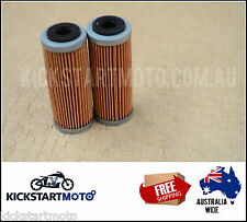 Oil Filters for KTM 400EXC 400XC 450EXC 450SXF 450XC (Twin Pack) 400 450 EXC XC