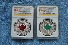 2013-14, Canada, $20, NGC, Maple Leaf Impressions set, PF70 UC, 1 is Early Relea