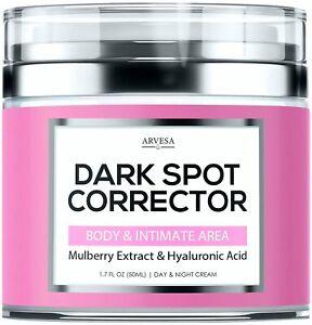2 Arvesa Dark Spot Correcting Cream Intimate Areas Body Face Bikini 1.7oz each