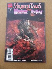 Strange Tales 2 . Cover B. George Pratt . Marvel 1998 . VF