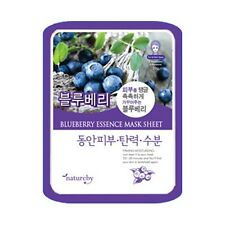 Natureby Blueberry Ultra Hydration Essence Mask Sheet 1pcs K-Beauty K-Cosmetic