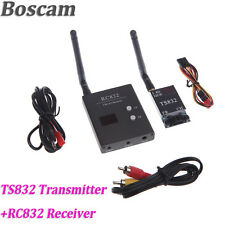 Boscam 5.8G Wireless AV Transmitter TS832 48CH Receiver RC832 48CH For FPV
