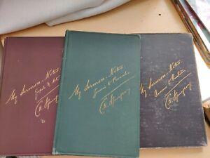C.H.Spurgeon My sermon notes 3 Antique Volumes Passmore and Alabaster. Good