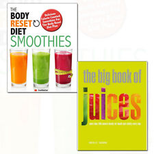 Big Book of Juices by Natalie Savona 2 Books Collection Pack Set Body Reset Diet
