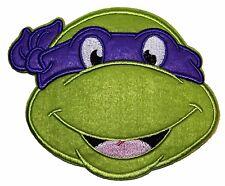 """Teenage Mutant Ninja Turtles Donatello Purple Mask Head Large 5"""" Patch"""