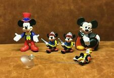 Mickey Mouse Figurine Lot ~ (5) Pieces ~ Superior Toy, Applause ~ Free Shipping